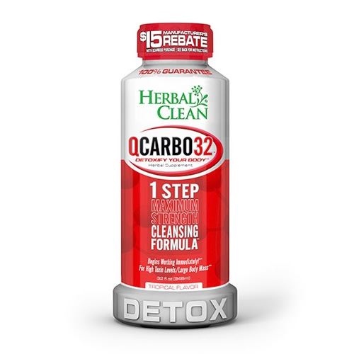 Herbal Clean Qcarbo32 Tropical Flavor Best 4 Drug Test