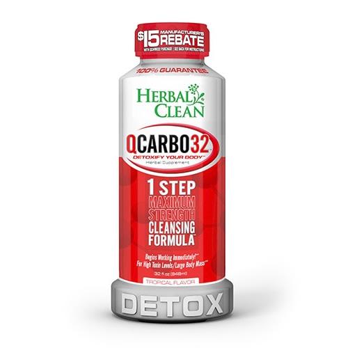 Herbal Clean Qcarbo32 Tropical Flavor Best 4 Drug Test