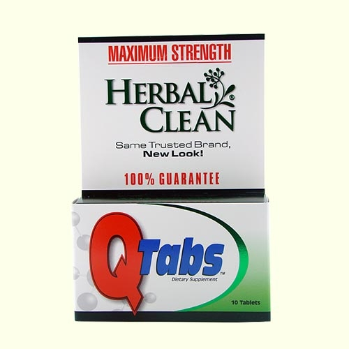 Herbal Clean Quick Tabs Best 4 Drug Test