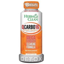 Herbal Clean QCarbo. Orange Flavor