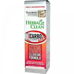 Herbal Clean QCarbo Plus With Booster. Strawberry-Mango Flavor