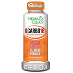 Herbal Clean QCarbo. Orange Flavor