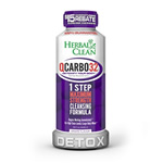Herbal Clean QCARBO32. Grape Flavor