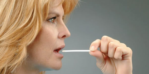 saliva test strip