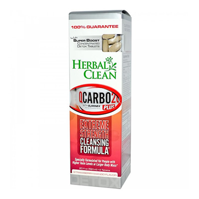 Herbal Clean QCarbo Plus With Booster