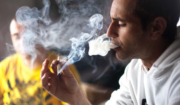 second hand marijuana smoke