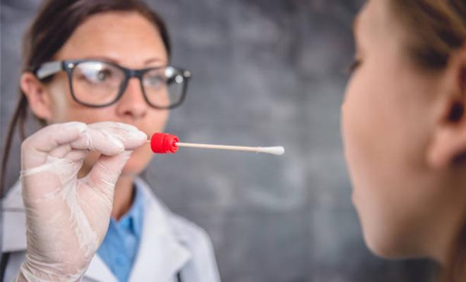 how far back does saliva test go