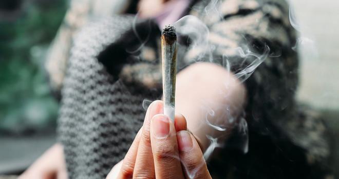 smoke weed once