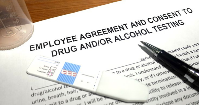 employers drug test